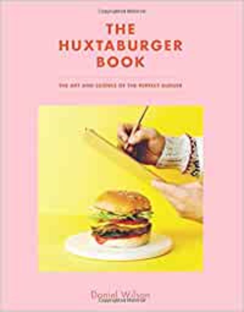 Libro original de recetas hamburguesas Huxtaburger book