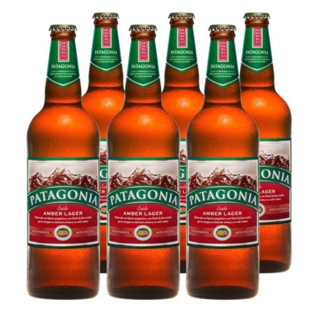 Patagonia cerveza típica de Argentina