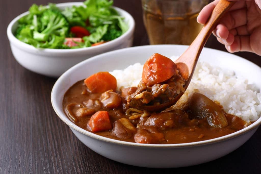 curry japonés tradicional