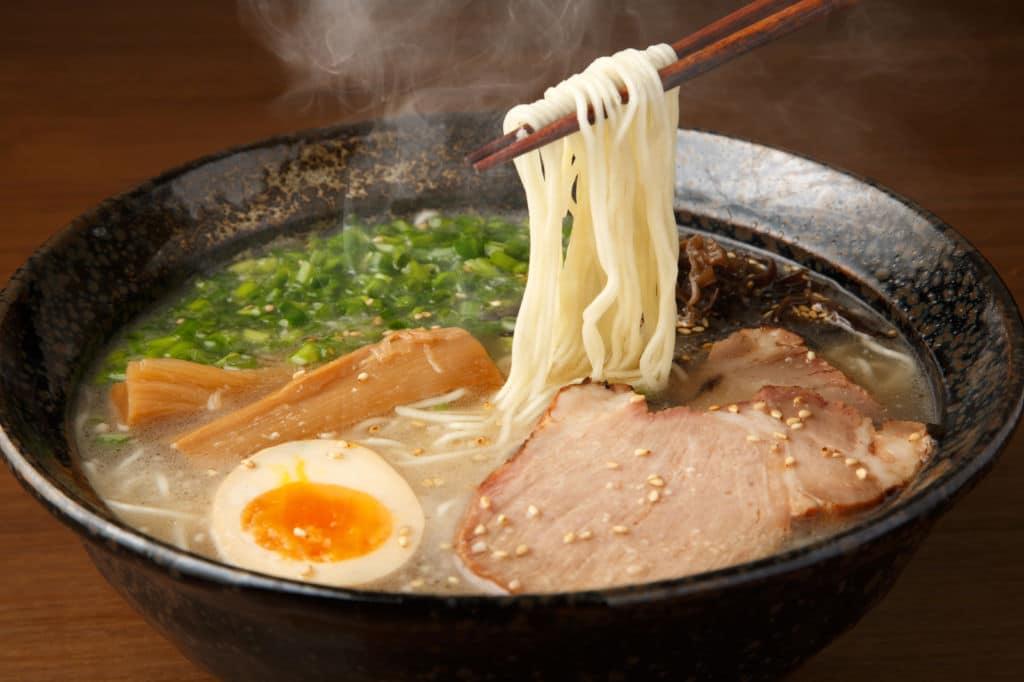 ramen platos típicos de Japón