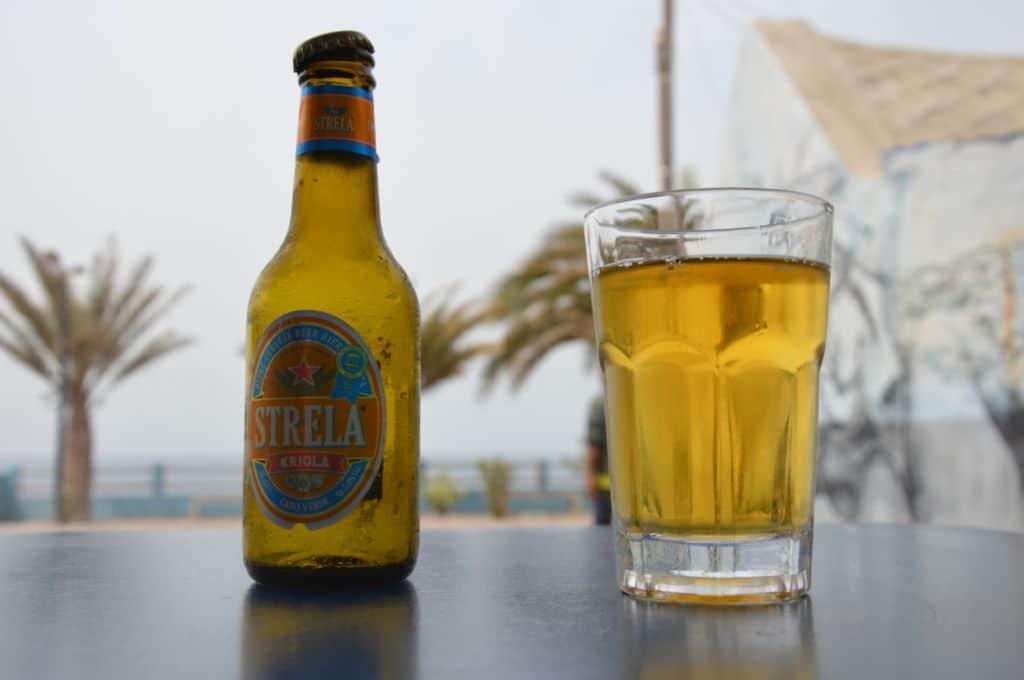 Santo Antão cabo verde Strela cerveza típica
