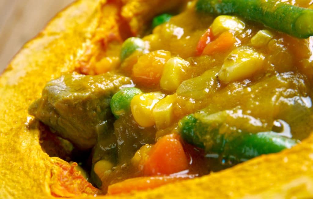 platos típicos chilenos carbonada