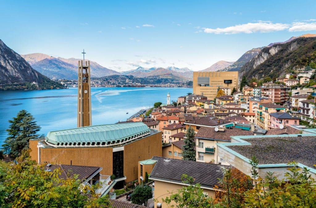 enclave europa Campione d'italia suiza e italia