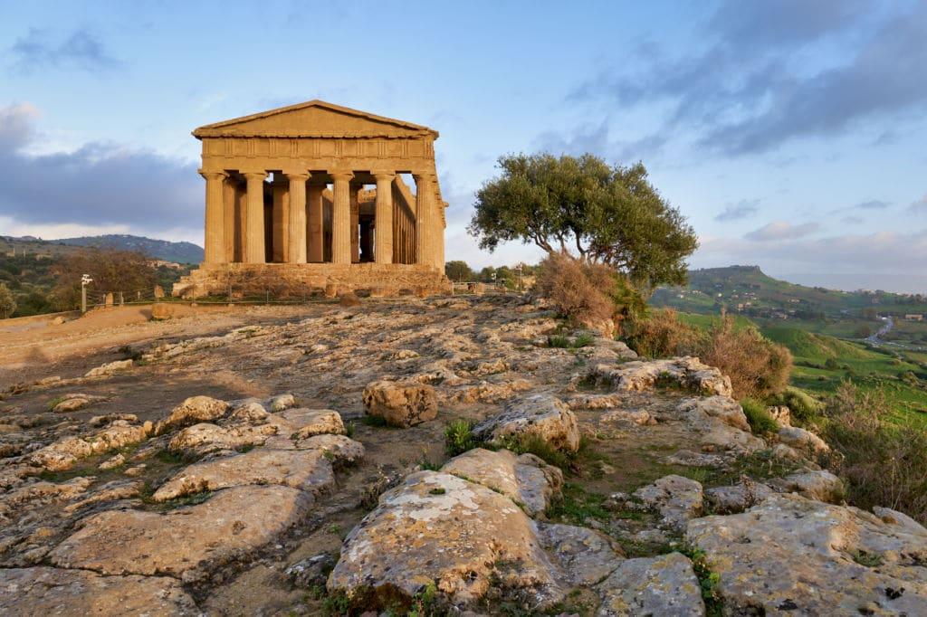 Valle de los Templos de Agrigento lugares que visitar en Italia
