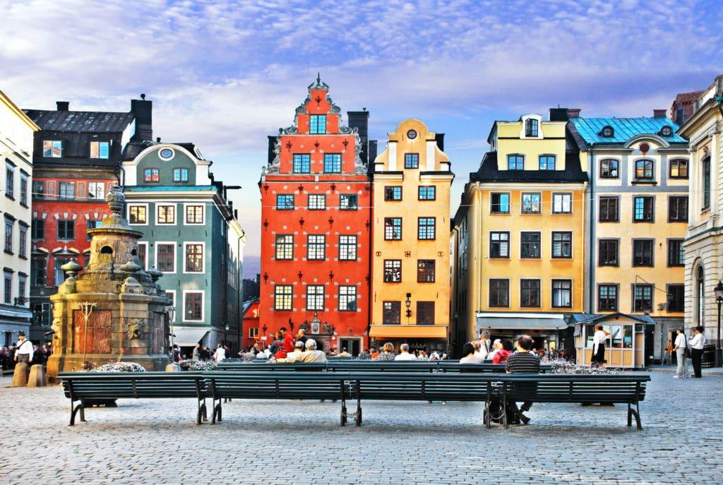 qué ver en Estocolmo Gamla Stan casas suecia
