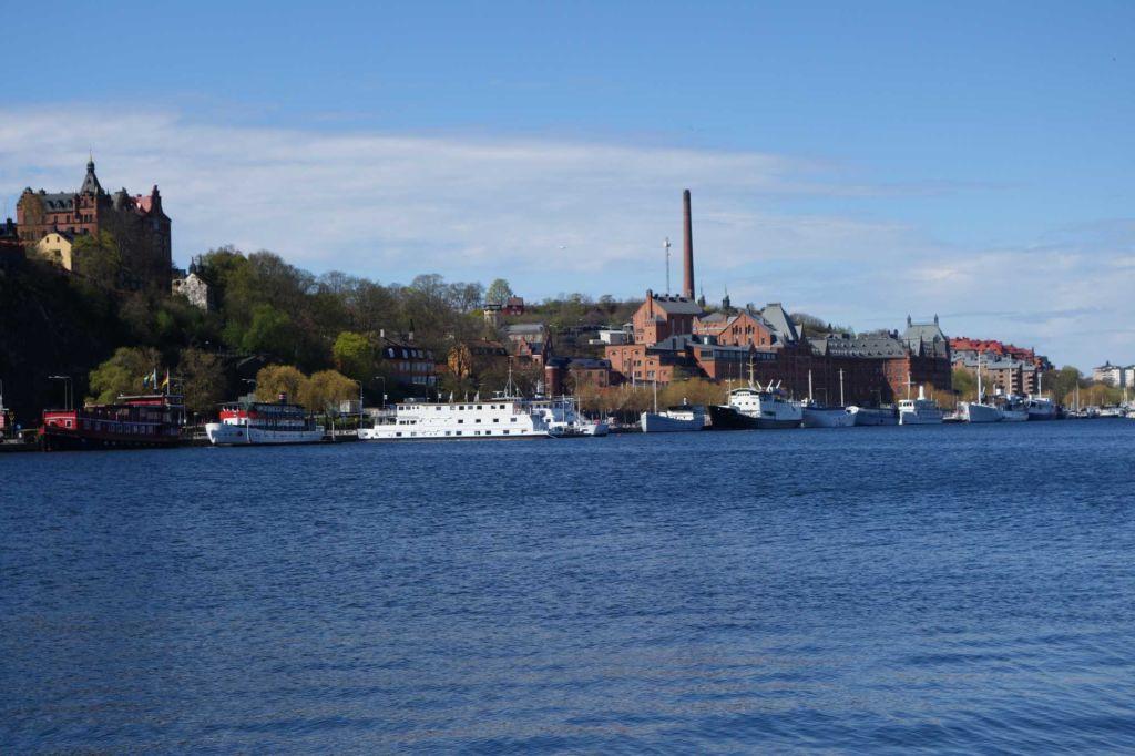 vistas de Sodermalm en Estocolmo suecia