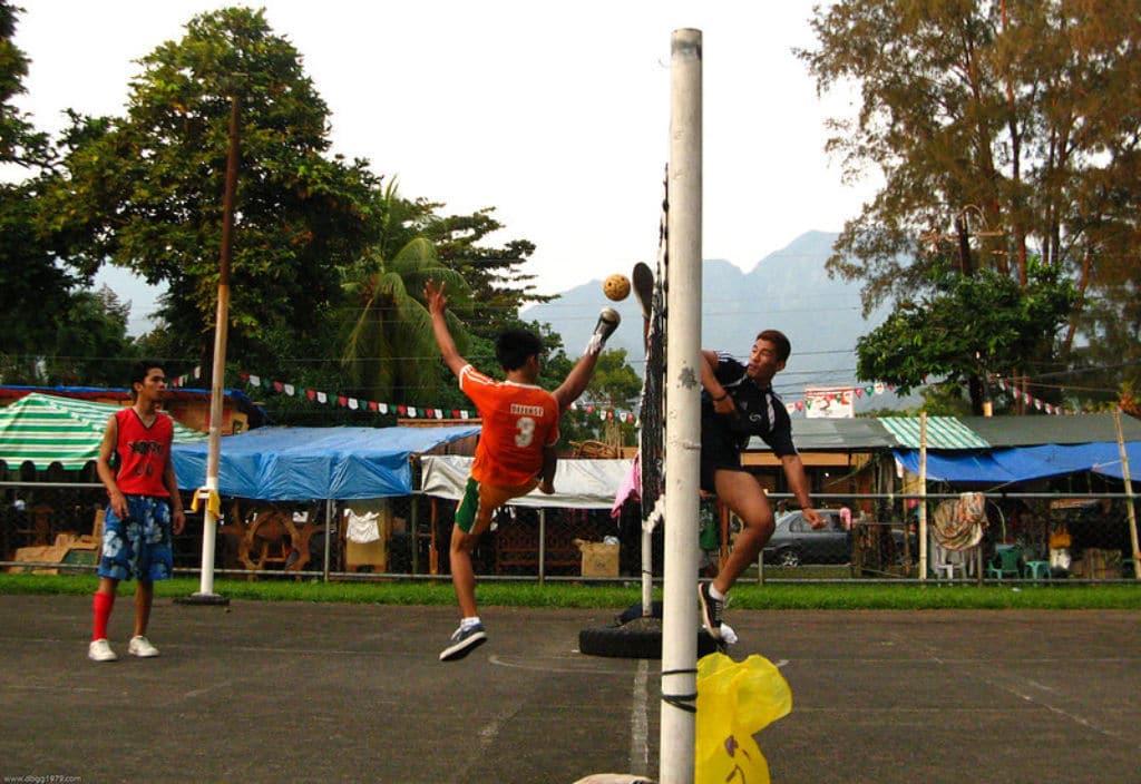 deportes insólitos sepak takraw en el sudeste de asia