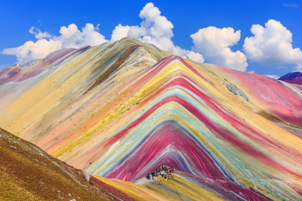montaña de siete colores en Perú