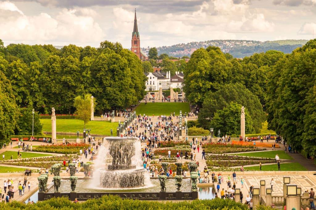road trip noruega  Parque de las Esculturas de Vigeland