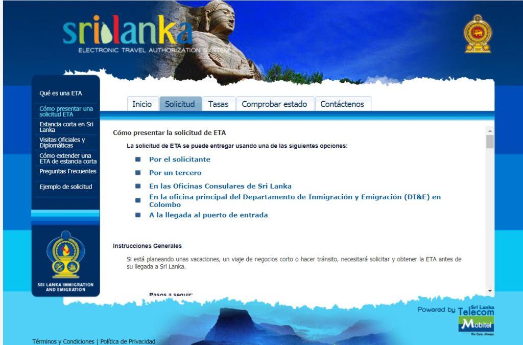 es seguro viajar a Sri Lanka solicitar el visado  seguro de viaje