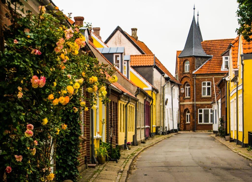 Ribe en Dinamarca es una ciudad muy antigua