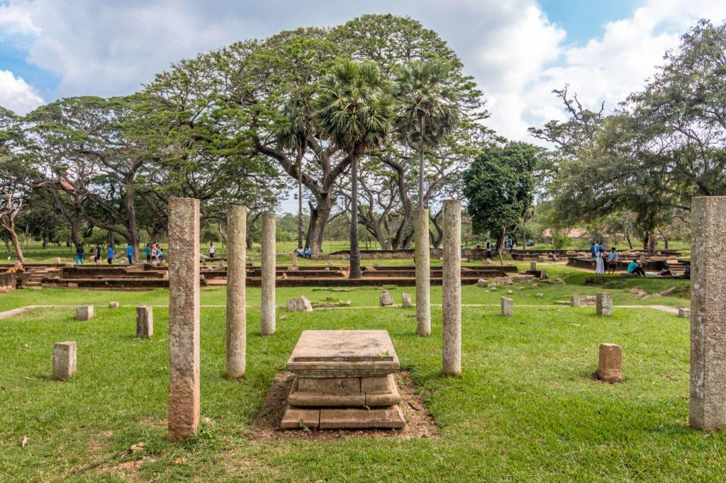 Anuradhapura en Sri Lanka entre las ciudades más antiguas de Asia