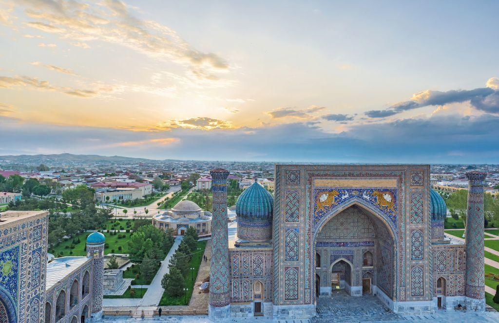 Uzbekistán  qué ver en Samarcanda antigüedad