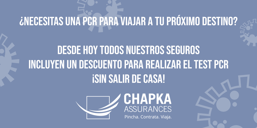 PCR obligatoria para viajar descuento a 90€ sin salir de casa a domicilio