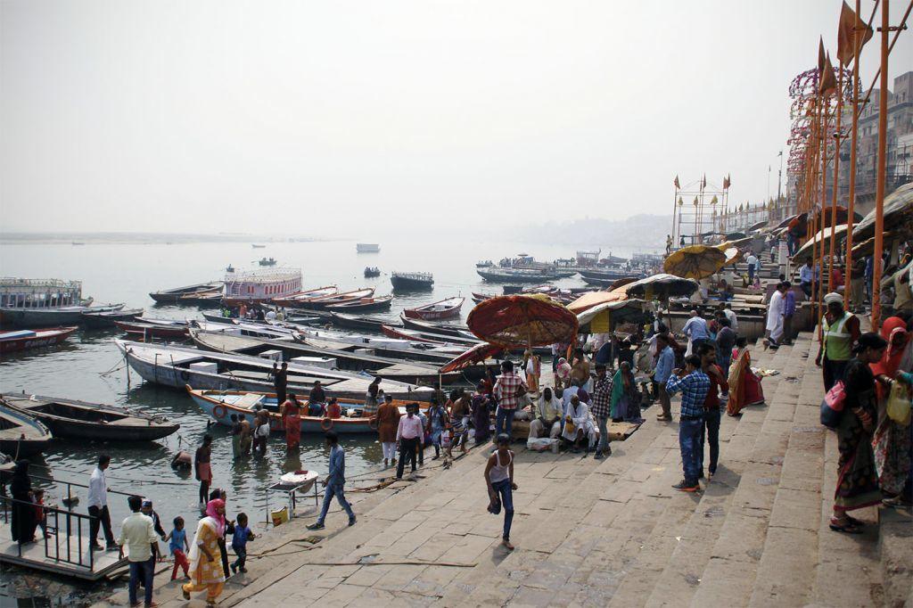 Varanasi o Benarés está entre las ciudades más antiguas de la India y de Asia