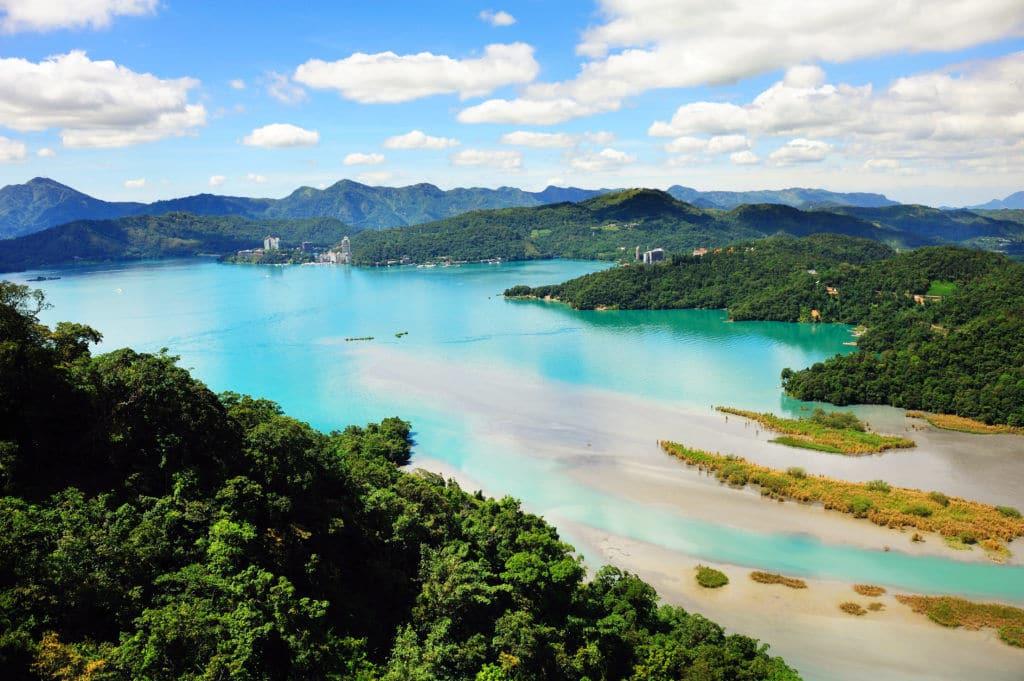 El lago de Sol y Luna Taiwán