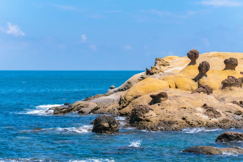 La Península de Yehliu lugares naturaleza que ver en Taiwán