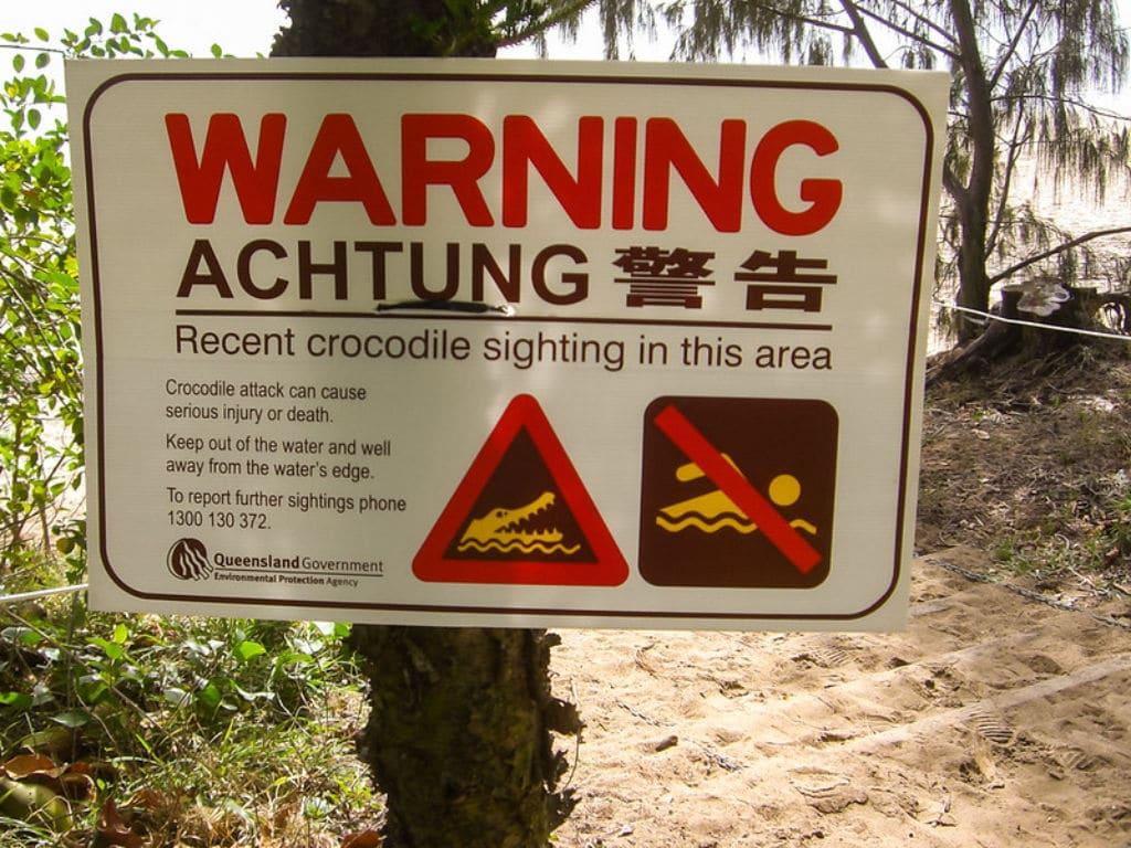 señales típicas australianas