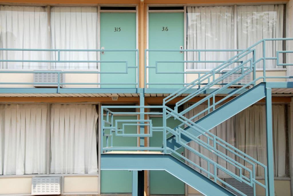 10 alojamientos insólitos en el mundo - un motel en Estados Unidos