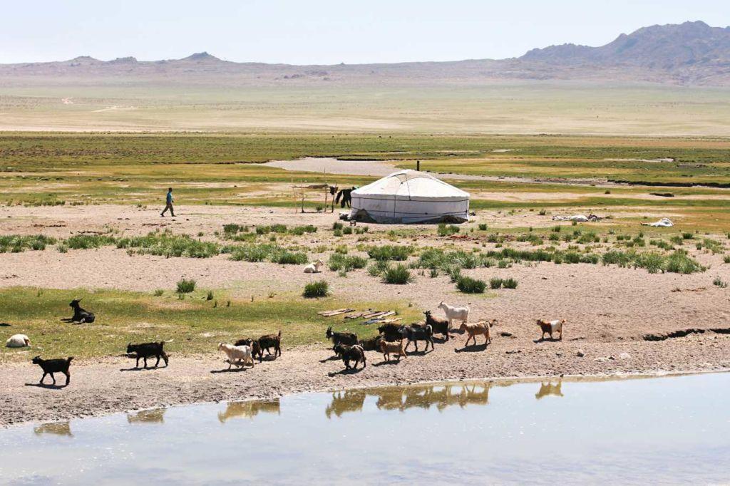 10 alojamientos insólitos en el mundo - yurta en Mongolia