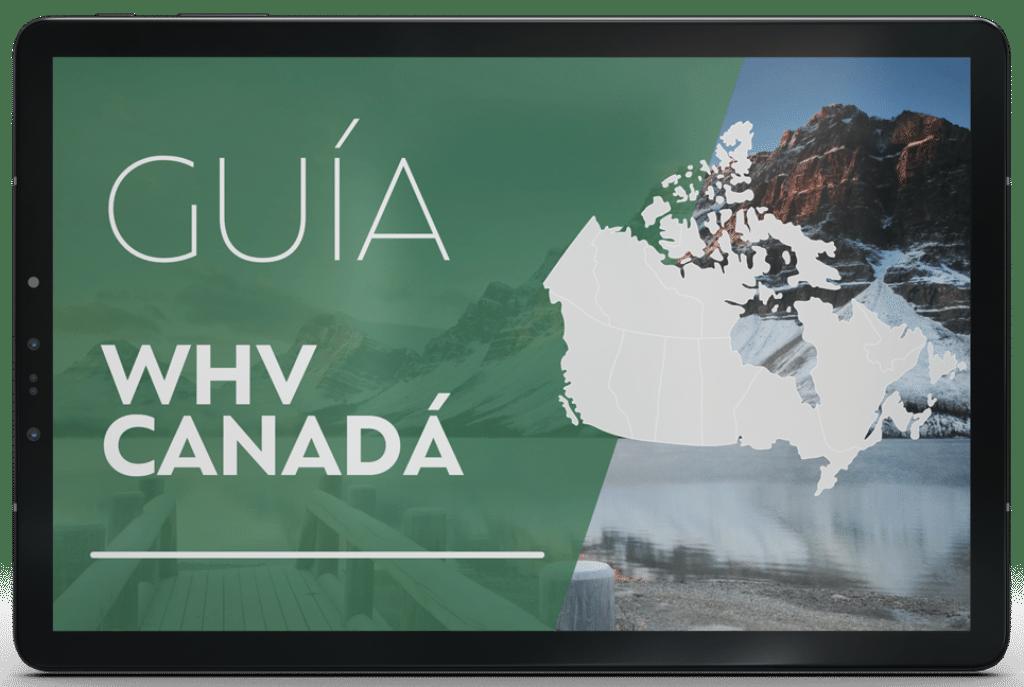 guía working holiday visa canadá