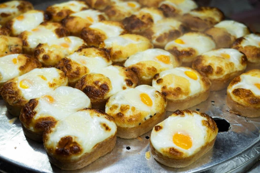 egg bread de Corea del Sur