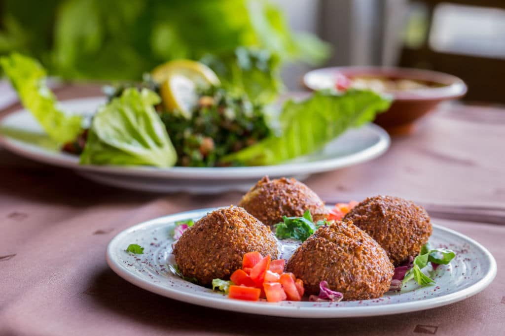 comidas callejeras del mundo falafel