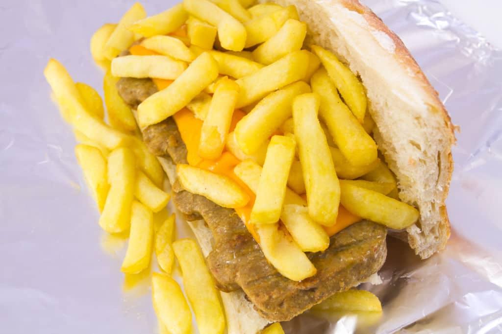 metralleta street food Bélgica