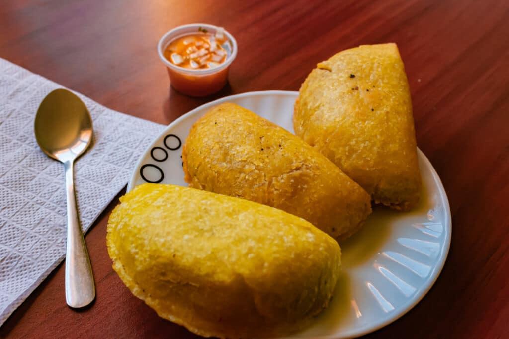 gastronomía típica de colombia Empanadas