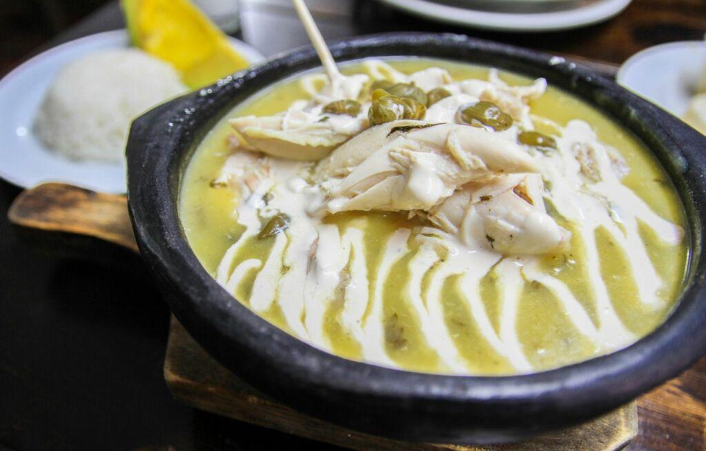 Ajiaco es una de las sopas más conocidas del mundo y procede de Colombia