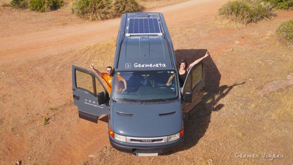 los consejos de Germen Viajero sobre cómo camperizar una furgoneta