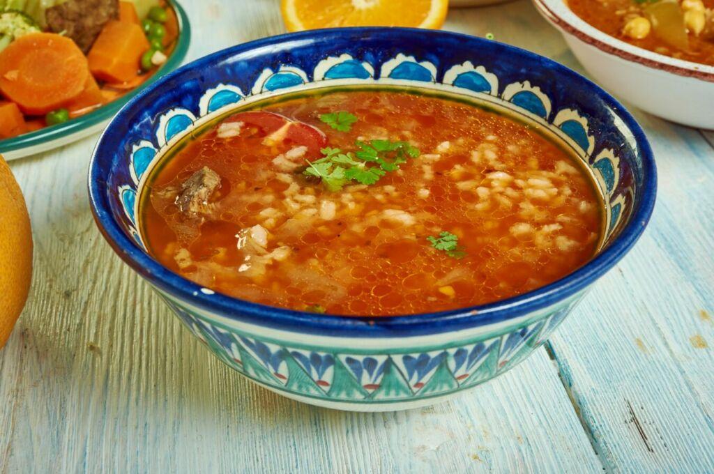 Chorba sopa típica árabe