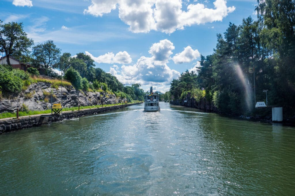 Canal de Gota en Suecia