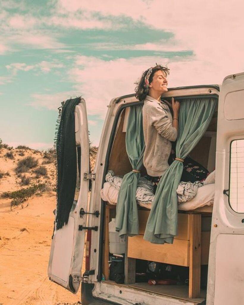 los consejos de Lara Mesanza sobre cómo camperizar una furgoneta