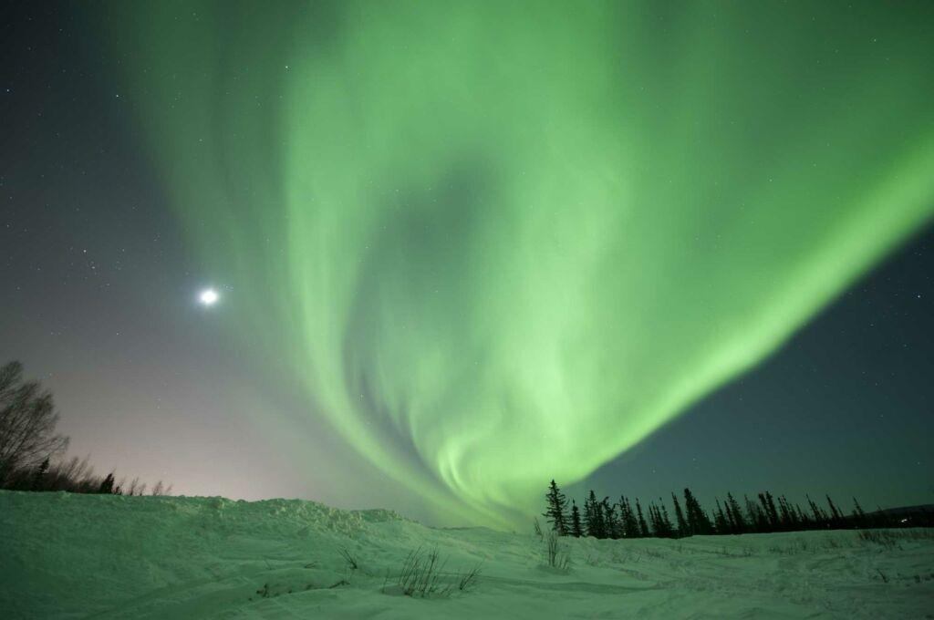 Alaska dónde ver las mejores auroras boreales