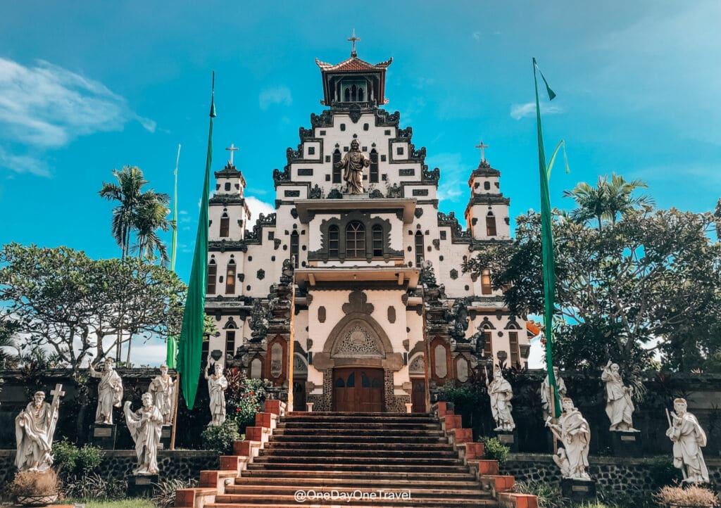 iglesia catolica Palasari