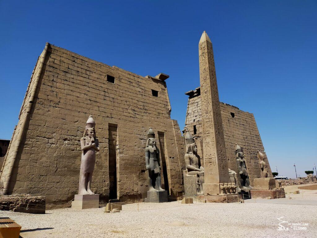 viajar a Egipto por libre templo-de-Luxor - Las sandalias de Ulises
