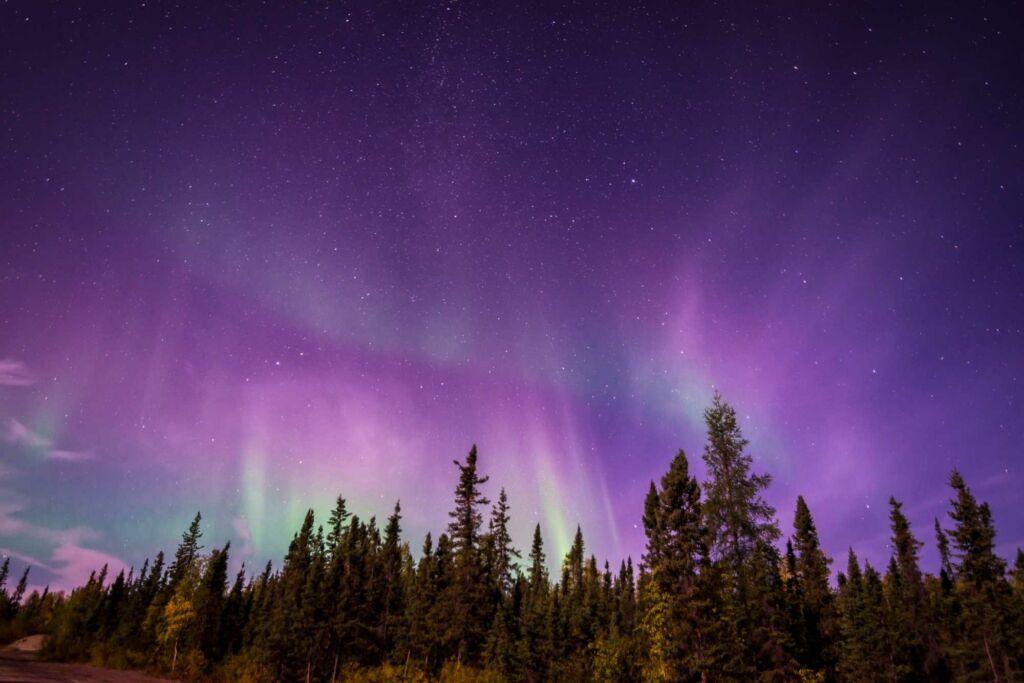 Yellowknife Alaska dónde ver las mejores auroras boreales