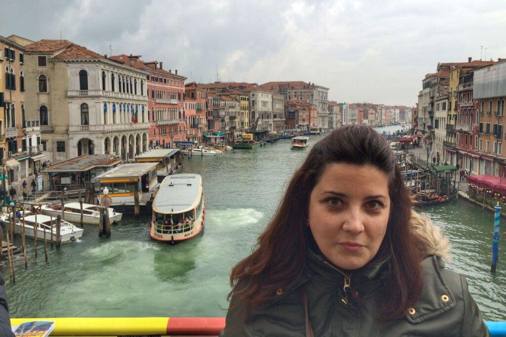Paloma del blog de Palo en Venecia