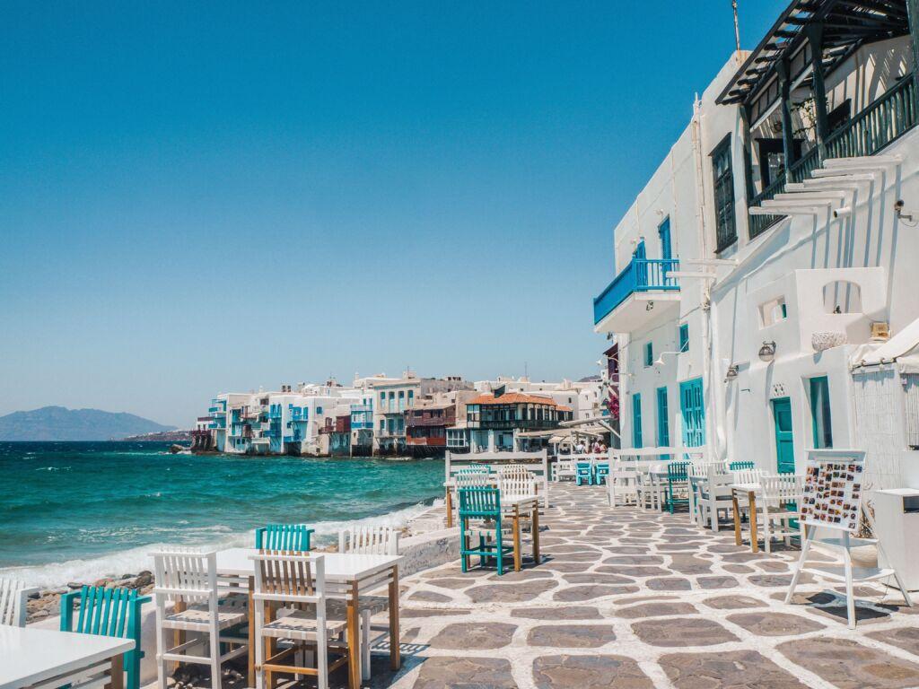 Cícladas en Grecia, destino vacaciones para vacunados