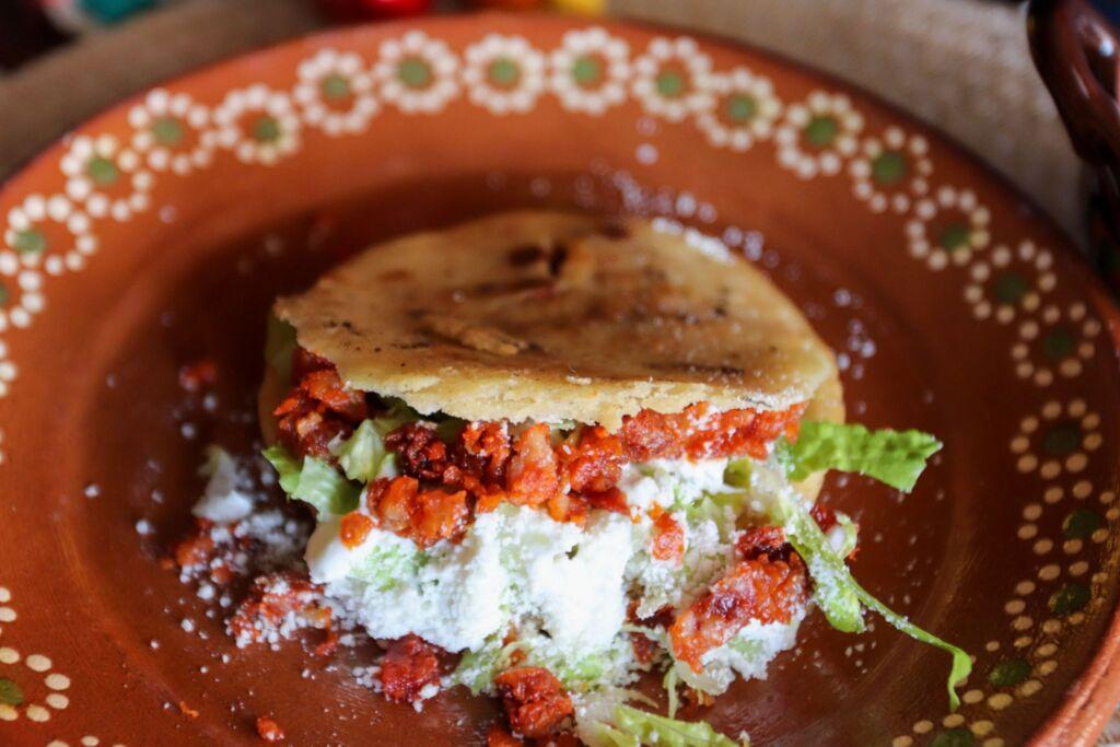 gorditas, típico plato mexicano