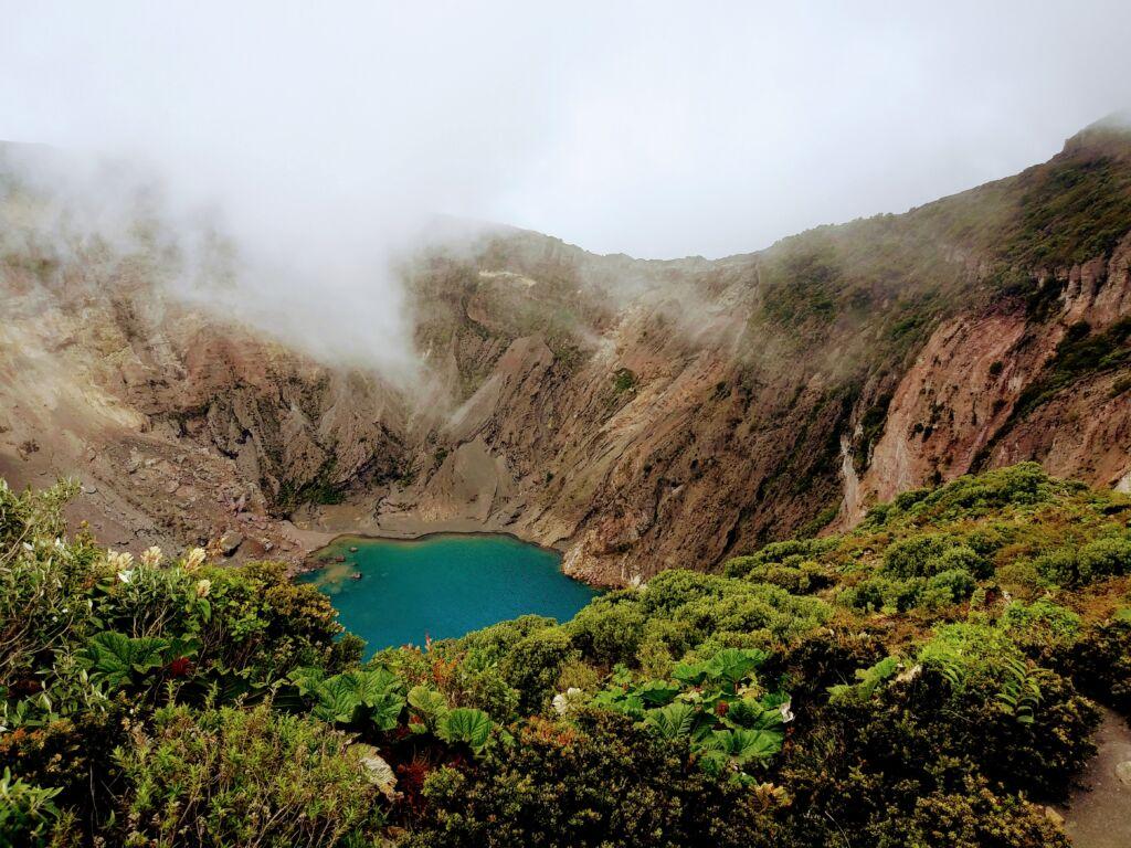 Irazú, volcanes en Costa Rica