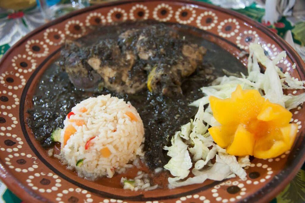 Mole Poblano comida de México