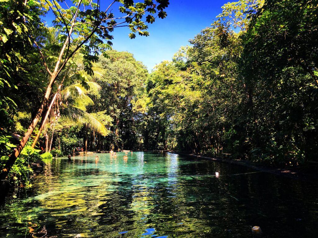 el ojo de agua son unas aguas termales que ver en Nicaragua