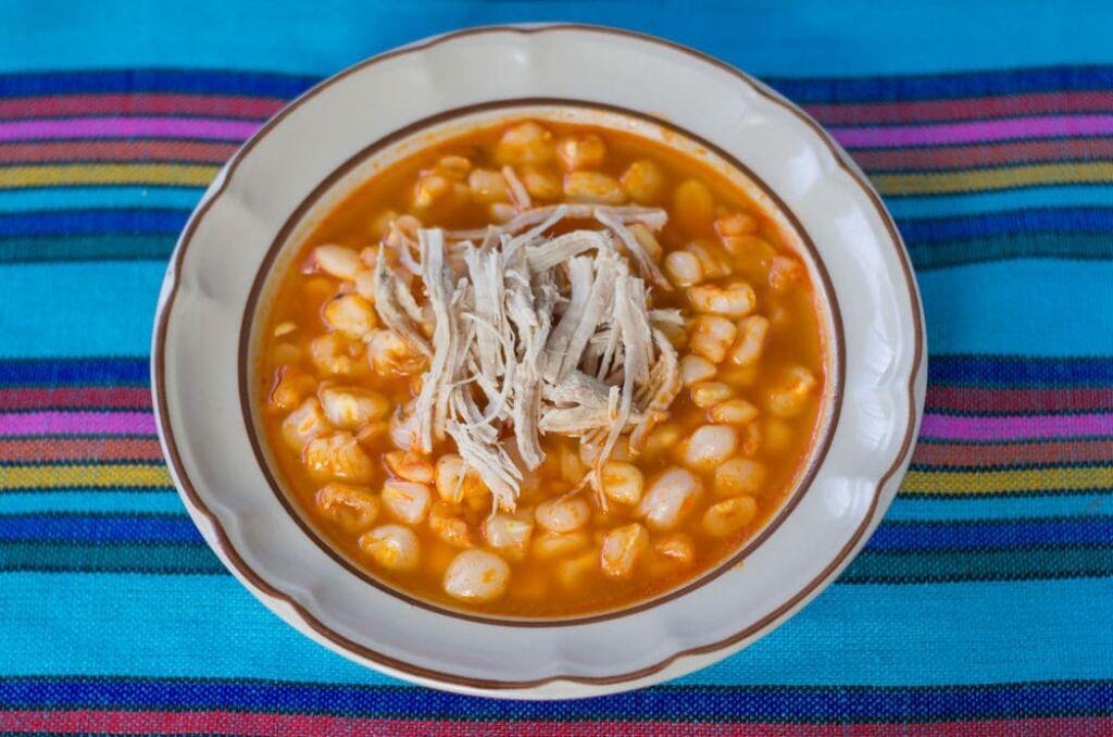 qué comer en México, pozole