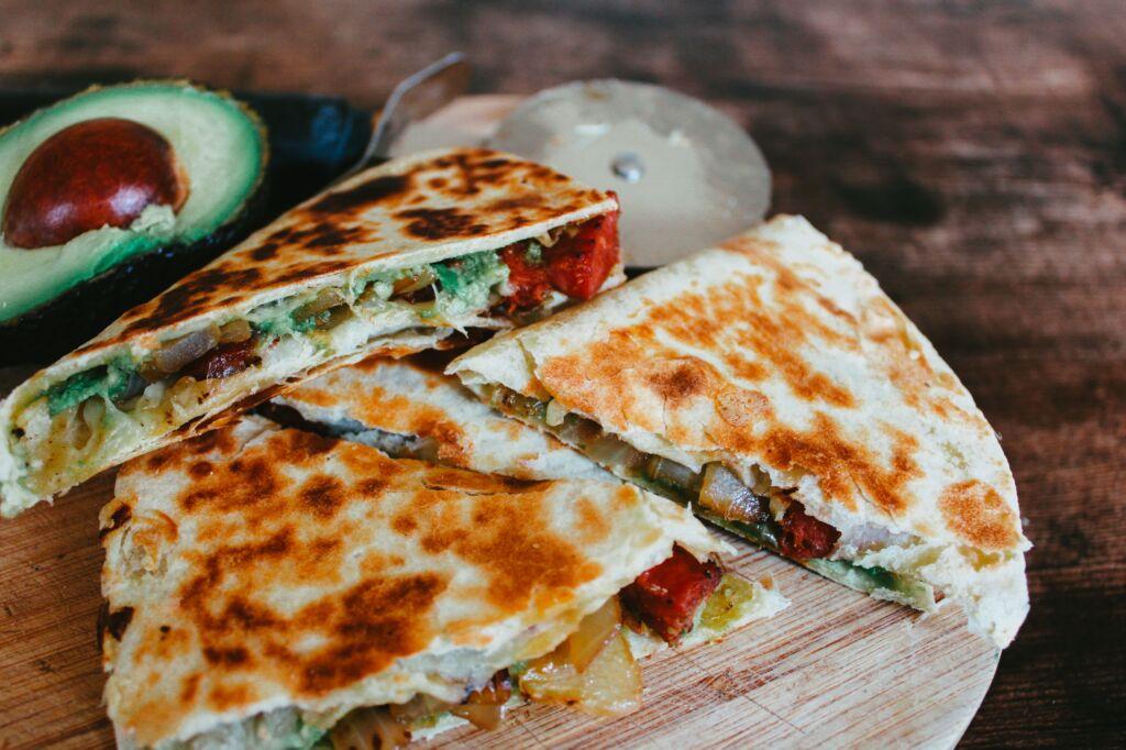 la quesadilla es una especialidad de México