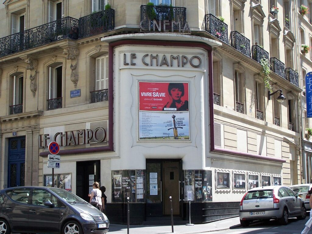 Le Champo, cine alternativo en París- Cultura y arte.