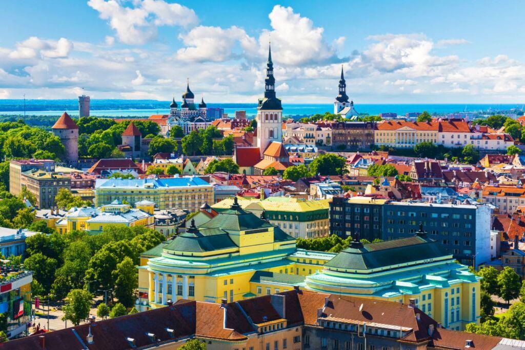 En Tallin tuvieron lugar parte de los juegos olímpicos de Moscú. Ciudades olímpicas