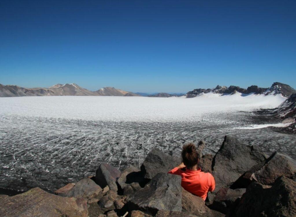Volcán Sollipulli, experiencia insolita en Chile
