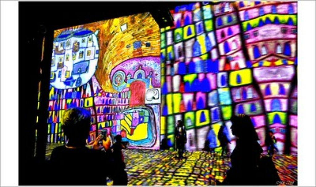 atelier des lumieres, lugar artístico y  cultural en París